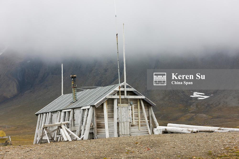 Old whaling station, Bellsund, Spitsbergen, Norway
