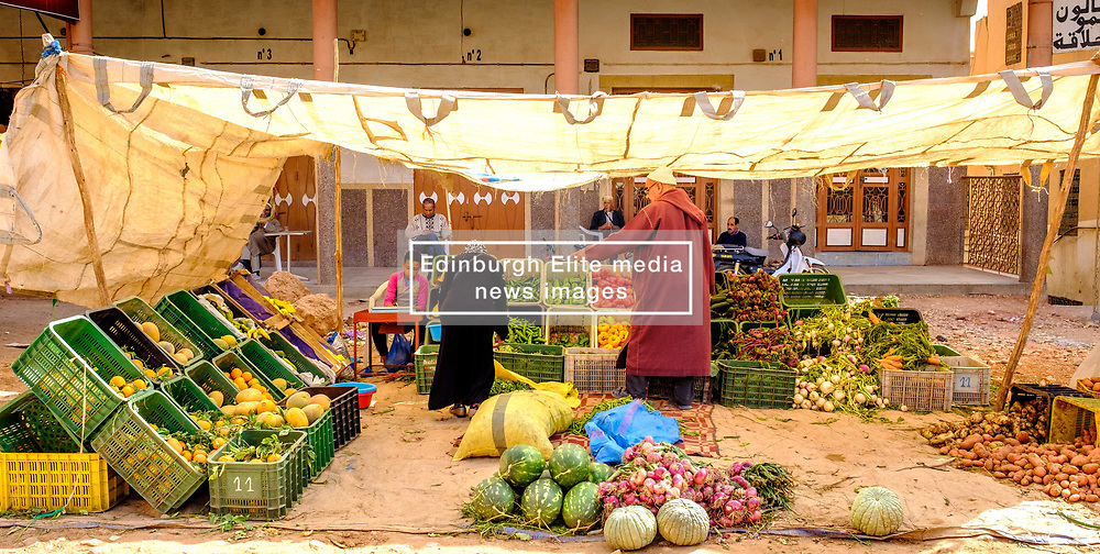Market stall in Tinghir, southerm Morocco<br /> <br /> (c) Andrew Wilson | Edinburgh Elite media