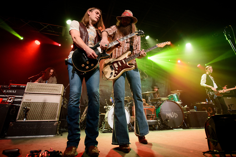The band Whiskey Myers plays a show at Higher Ground on Thursday night February 1, 2018 in South Burlington, Vermont. (Photo by Brian Jenkins/3rd Stone Images)