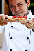 Neil Salonga Executive Chef Essence. Airport Resort Darwin. His New Tapas Menu