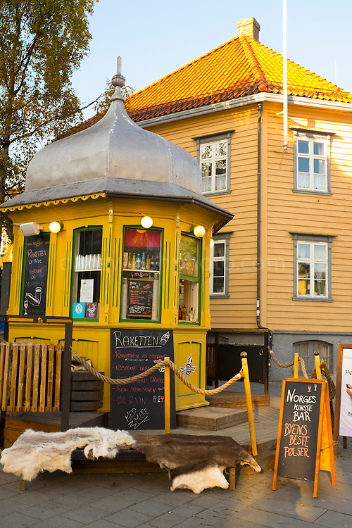 Norway's Smallest Bar, Rakketen - the Rocket, Tromso