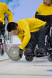 Wei Liu, Wheelchair Curling Semi Finals at the 2014 Sochi Winter Paralympic Games, Russia