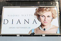 Diana - World film premiere, Odeon cinema Leicester Square, London UK, 05 September 2013, (Photo by Richard Goldschmidt)