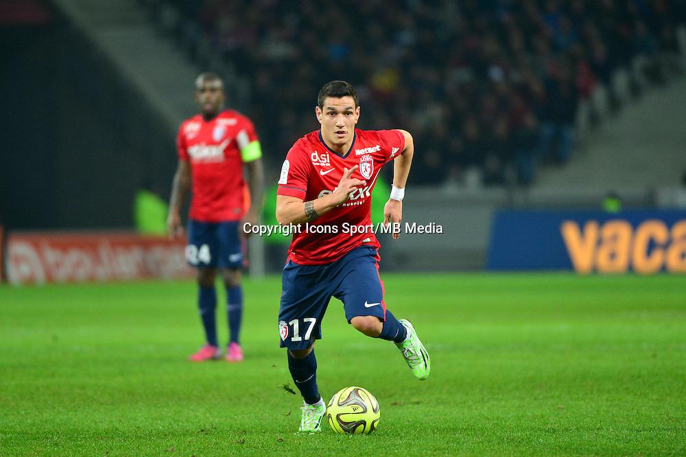 Marco  LOPES  - 24.01.2015 - Lille / Monaco - 22eme journee de Ligue1<br />Photo : Dave Winter / Icon Sport