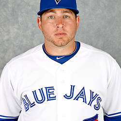 March 2, 2012; Dunedin, FL, USA; Toronto Blue Jays shortstop Brian Bocock (39) poses for a portrait during photo day at Florida Auto Exchange Stadium.  Mandatory Credit: Derick E. Hingle-US PRESSWIRE