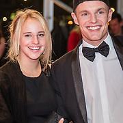 NLD/Amsterdam/20161013 - Televiziergala 2016, Enzo Knol en partner Dee van der Zeeuw