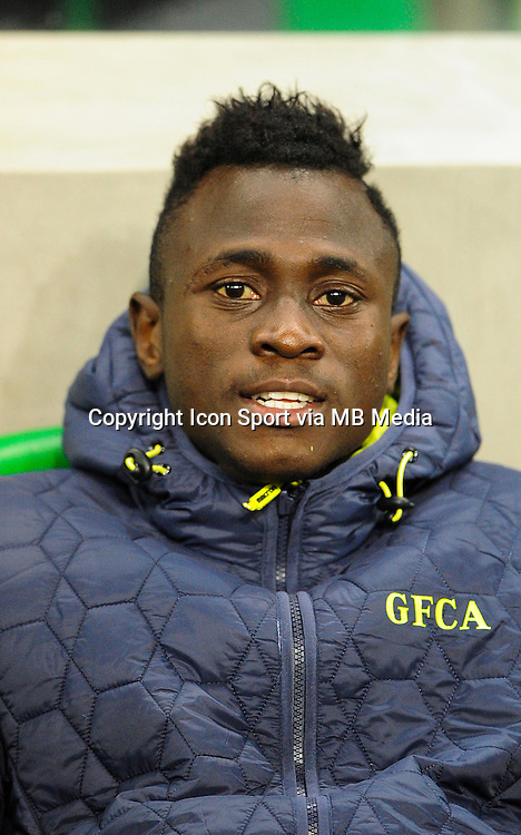Issiaga Sylla - 17.10.2015 - Saint Etienne / Gazelec Ajaccio - 10eme journee de Ligue1<br /> Photo : Jean Paul Thomas / Icon Sport