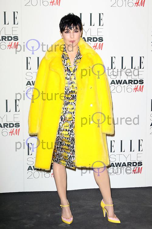 Noomi Rapace, ELLE Style Awards 2016, Millbank London UK, 23 February 2016, Photo by Richard Goldschmidt
