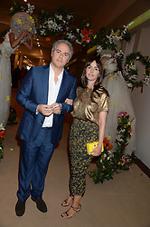 FARES & TANIA FARES at the Masterpiece Midsummer Party in aid of Marie Curie Cancer Care held at The Royal Hospital Chelsea, London on 2nd July 2013.
