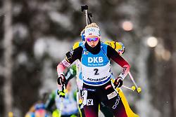 March 10, 2019 - –Stersund, Sweden - 190310 Ingrid Landmark Tandrevold of Norway  during the Women's 10 km Pursuit during the IBU World Championships Biathlon on March 10, 2019 in Östersund..Photo: Petter Arvidson / BILDBYRÃ…N / kod PA / 92254 (Credit Image: © Petter Arvidson/Bildbyran via ZUMA Press)