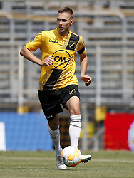 Karol Mets of NAC Breda during the Pre-season Friendly match between NAC Breda and EDS Team Manchester City at Rat Verlegh stadium on August 04, 2018 in Breda, The Netherlands