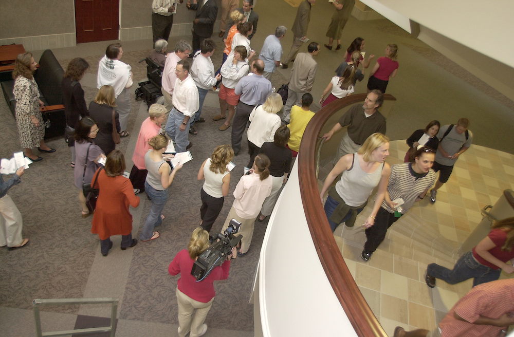 14867Grover Center Cornerstone Ceremony Grand Opening 5/2001