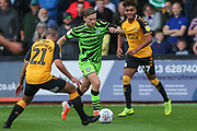 Forest Green Rovers Dayle Grubb(8) runs forward during the EFL Sky Bet League 2 match between Cambridge United and Forest Green Rovers at the Cambs Glass Stadium, Cambridge, England on 7 September 2019.