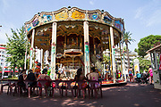 Merry-Go-Round. Photographed in Cannes, French Riviera, France