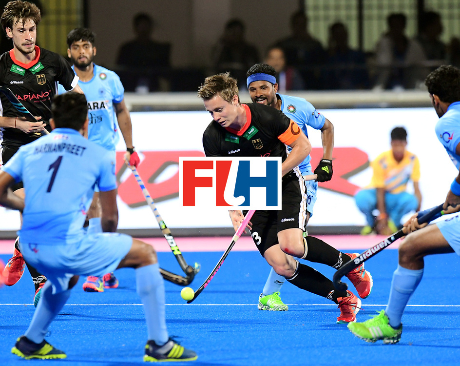 Odisha Men's Hockey World League Final Bhubaneswar 2017<br /> Match id:21<br /> India v Germany<br /> Foto: Mats Grambusch (Ger) <br /> COPYRIGHT WORLDSPORTPICS FRANK UIJLENBROEK