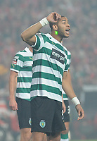 20111126: LISBON, PORTUGAL - SL Benfica vs Sporting  match for Portuguese League 2011/2012. In picture: Onyewu. PHOTO: Alvaro Isidoro/CITYFILES