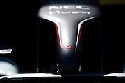 May 23, 2014: Monaco Grand Prix: Sauber nose cone detail