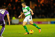 Yeovil Town's Matthew Dolan during the Sky Bet League 2 match between Yeovil Town and Plymouth Argyle at Huish Park, Yeovil, England on 23 February 2016. Photo by Graham Hunt.