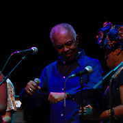 UK: Gilberto Gil performs during Refavela 40 tour in London<br /> Brazilian singer-songwriter and former minister of Culture Gilberto Gil performs during Refavela 40 tour at the Barbican Centre in London, UK on June 25, 2018.