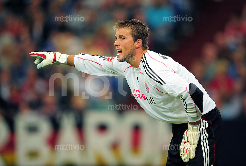FUSSBALL   T-HOME CUP   SAISON 2009/2010   SPIEL UM PLATZ 3 FC Schalke 04 - FC Bayern Muenchen        19.07.2009 Torwart Michael RENSING (FC Bayern Muenchen)