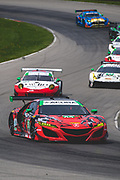 May 4-6 2018: IMSA Weathertech Mid Ohio. 93 Michael Shank Racing, Acura NSX GT3, Justin Marks, Lawson Aschenbach