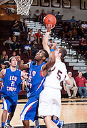 February 17, 2011: The Lubbock Christian University Chaparrals play against the Oklahoma Christian University Eagles at the Eagles Nest on the campus of Oklahoma Christian University.