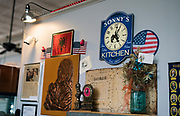 Decorations adorn the walls inside Sonny's Kitchen in Oregon, Wisconsin, Monday, May 20, 2019.