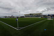 General stadium view during the EFL Sky Bet League 1 match between Bristol Rovers and Accrington Stanley at the Memorial Stadium, Bristol, England on 7 September 2019.