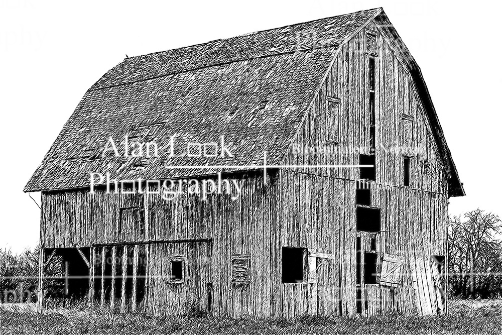 Rustic Barn in disrepair