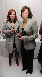 Left to right, KATHRYN BLAIR and her mother CHERIE BLAIR at the launch of the English National Ballet's Christmas season 2009 held at the St.Martin;s Lane Hotel, London on 15th December 2009.