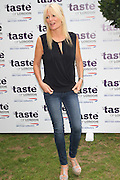 19.JUNE.2013. LONDON<br /> <br /> GABY ROSLIN ATTENDS THE TASTE OF LONDON VIP PREVIEW IN REGENTS PARK.<br /> <br /> BYLINE: EDBIMAGEARCHIVE.CO.UK<br /> <br /> *THIS IMAGE IS STRICTLY FOR UK NEWSPAPERS AND MAGAZINES ONLY*<br /> *FOR WORLD WIDE SALES AND WEB USE PLEASE CONTACT EDBIMAGEARCHIVE - 0208 954 5968*