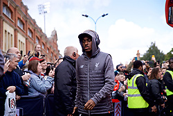 LONDON, ENGLAND - Sunday, March 17, 2019: Liverpool's Rafael Camacho arrives before the FA Premier League match between Fulham FC and Liverpool FC at Craven Cottage. (Pic by David Rawcliffe/Propaganda)