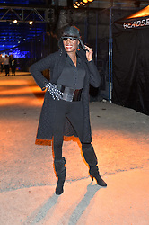 GRACE JONES at the Battersea Power Station Annual Party at Battersea Power Station, 188 Kirtling Street, London SW8 on 30th April 2014.