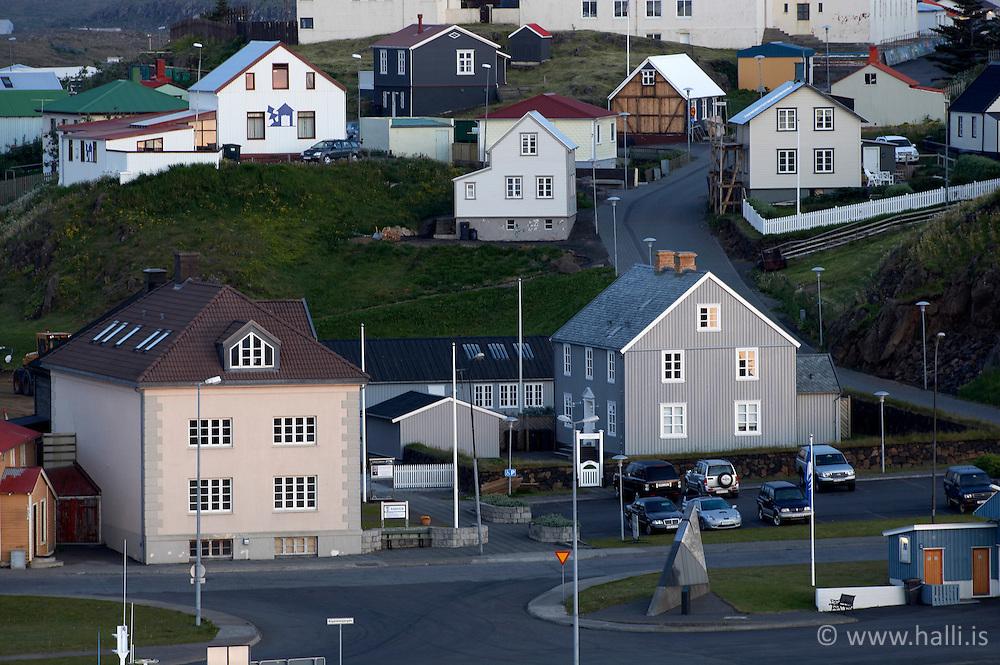 Houses in Stykkisholmur, Snaefellsnes, Iceland - Hús í Stykkishólmi