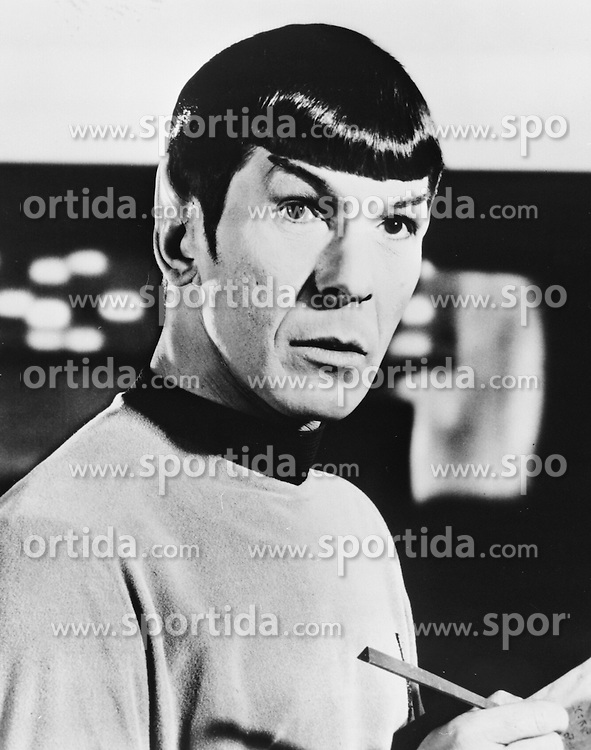 Leonard Nimoy, American Actor stars as &quot;Mr Spock&quot; in the Paramount TV Series &quot;Star Trek&quot;. EXPA Pictures &copy; 2015, PhotoCredit: EXPA/ Photoshot/ Starstock/Photoshot<br /> <br /> *****ATTENTION - for AUT, SLO, CRO, SRB, BIH, MAZ only*****