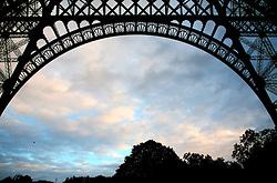 FRANCE PARIS 27JUL07 - View from underneath the Eiffel Tower, Paris.. . jre/Photo by Jiri Rezac. . © Jiri Rezac 2007. . Contact: +44 (0) 7050 110 417. Mobile:  +44 (0) 7801 337 683. Office:  +44 (0) 20 8968 9635. . Email:   jiri@jirirezac.com. Web:    www.jirirezac.com. . © All images Jiri Rezac 2007 - All rights reserved.
