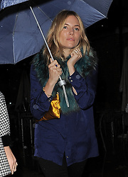 Sienna Miller attends LFW: Matthew Williamson - s/s 2014 catwalk show in London 15/09/2013<br />BYLINE MUST READ : GOTCHAIMAGES.COM<br /><br />Copyright by © Gotcha Images Ltd. All rights reserved.<br />Usage of this image is conditional upon the acceptance <br />of Gotcha Images Ltd, terms and conditions available at<br />www.gotchaimages.com