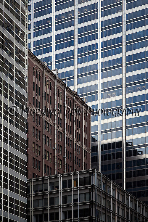 "North Wacker Drive - Part of the ongoing series entitled ""City Walls"""
