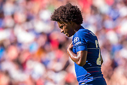 August 5, 2018 - Willian of Chelsea during the 2018 FA Community Shield match between Chelsea and Manchester City at Wembley Stadium, London, England on 5 August 2018. (Credit Image: © AFP7 via ZUMA Wire)