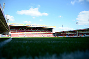 Banks's stadium during the Sky Bet League 1 match between Walsall and Crewe Alexandra at the Banks's Stadium, Walsall, England on 26 September 2015. Photo by Alan Franklin.