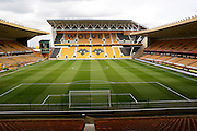 Stadium during the Sky Bet Championship match between Wolverhampton Wanderers and Blackburn Rovers at Molineux, Wolverhampton, England on 9 April 2016. Photo by Alan Franklin.