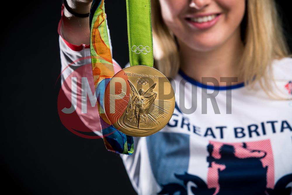 Rio 2016 Olympic Hockey Gold Medallist Lily Owsley poses for a portrait - Rogan Thomson/JMP - 04/11/2016 - HOCKEY - Ashton Gate Stadium - Bristol, England - Bristol Sport Collection Photoshoot.