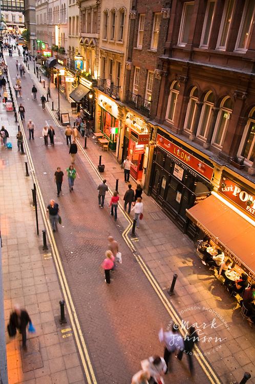 Villiers Street, London, England, UK