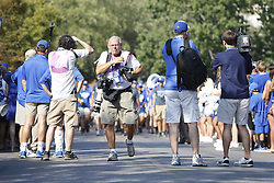The University of Kentucky hosted Louisiana-Lafayette , Saturday, Sept. 05, 2015 at Commonwealth Stadium in Lexington. Photo by Jonathan Palmer