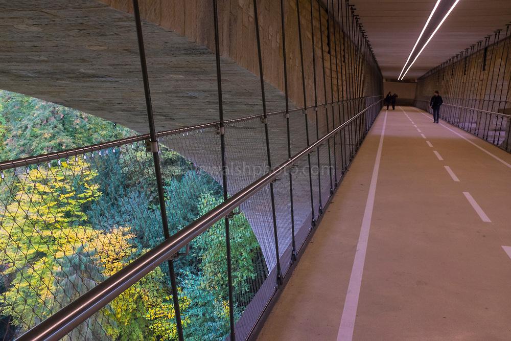 Bike bridge, Luxembourg