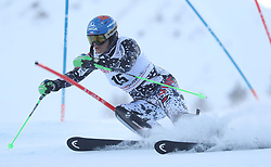 28.01.2018, Lenzerheide, SUI, FIS Weltcup Ski Alpin, Lenzerheide, Slalom, Damen, 1. Lauf, im Bild Veronika Velez Zuzulova (SVK) // Veronika Velez Zuzulova of Slovakia in action during her 1st run of ladie's Slalom of FIS ski alpine world cup in Lenzerheide, Austria on 2018/01/28. EXPA Pictures © 2018, PhotoCredit: EXPA/ Sammy Minkoff<br /> <br /> *****ATTENTION - OUT of GER*****