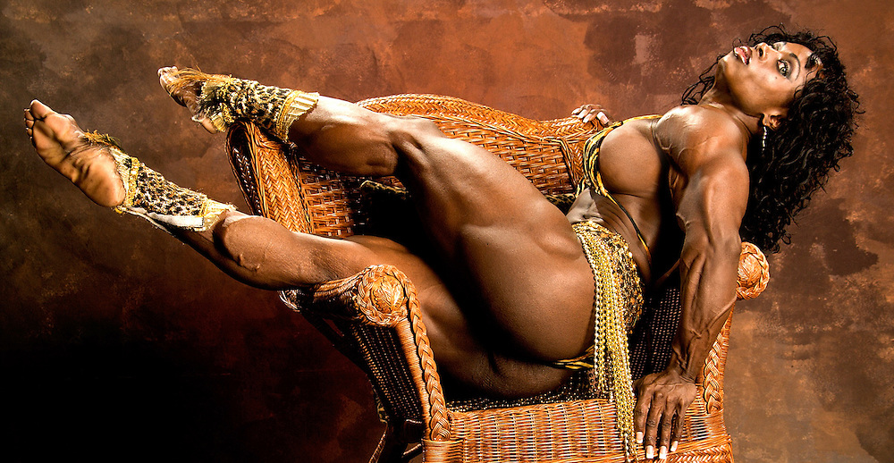 Pro bodybuilder Dayana Cadeau is considered the most sensual woman in the sport.