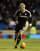 Brentford defender Jake Bidwell during the Sky Bet Championship match between Brighton and Hove Albion and Brentford at the American Express Community Stadium, Brighton and Hove, England on 5 February 2016. Photo by David Charbit.