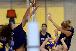 30-09-2014 ITA: World Championship Volleyball Training Nederland, Verona<br /> Celeste Plak, Manon Flier