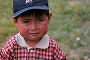 A BOY FROM THE TOWN OF LAMUD IN THE NORTH ANDES.
